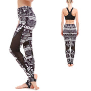 Empire Scrolls MaxGrip Leggings - Lotus Leggings