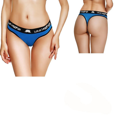LOTUS LEGGINGS LOTUS BLUE THONG STYLE