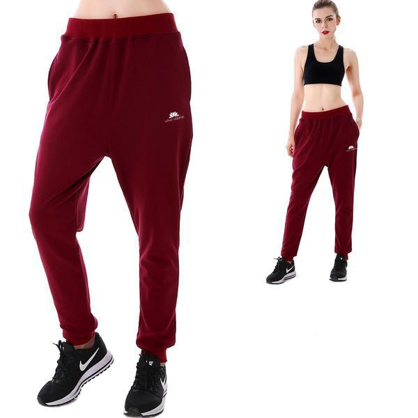WINE RED JOGGERS