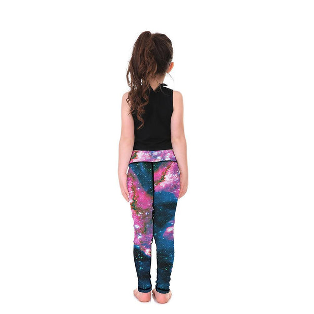 "LotusXâ""¢ Kid's Galaxy Leggings - Lotus Leggings"