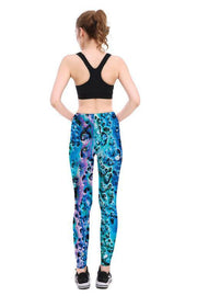 Blue Foam Leggings - Lotus Leggings