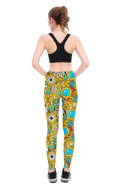 Steampunk Leggings - Lotus Leggings