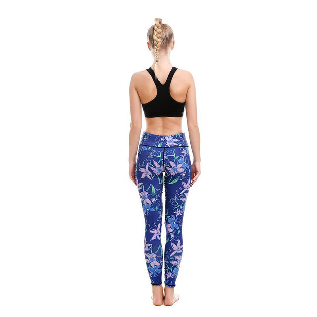 LOTUSX™ Vinca Blossom Leggings - Lotus Leggings