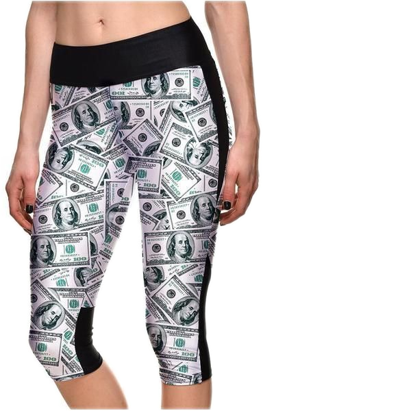 DOLLA DOLLA BILL ATHLETIC CAPRI