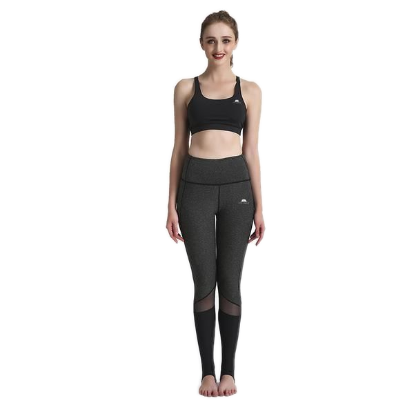 CHARCOAL HEELX LEGGINGS
