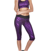 MERMAID ATHLETIC CAPRI