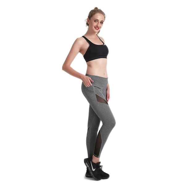 CHARCOAL MAXCROSS LEGGINGS