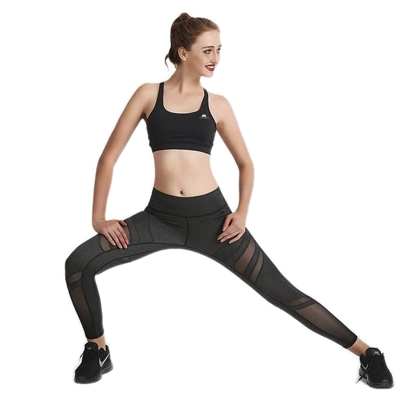 CHARCOAL SWIPEX LEGGINGS
