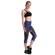 COSMIC CAPRI MESH LEGGINGS