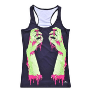 BLOODY HANDS TOP