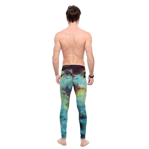 Deep Space Nebula Leggings - Lotus Leggings