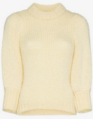 Ganni Puff Sleeved Jumper