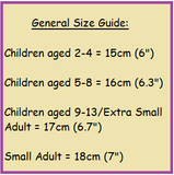 size guide for 9 year old birthday charm bracelet