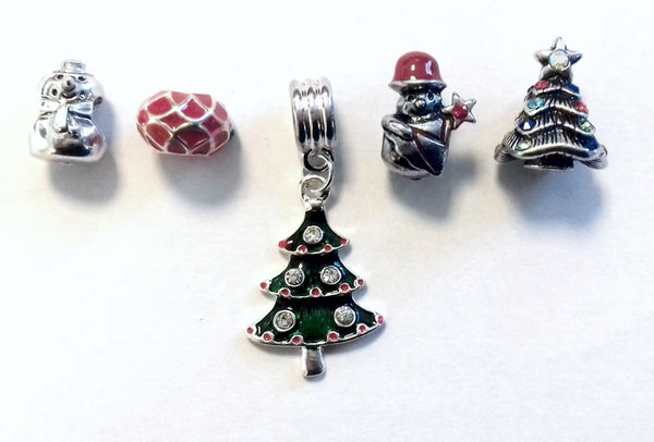 christmas charms for charm bracelets