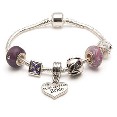 mother of bride bracelet