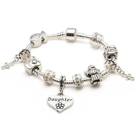Girl's first communion bracelet for Daughter
