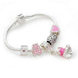 Love to dance bracelet is a great gifts for dancers or ballet gifts