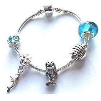 Children's Mermaid Bracelet For Girls Part Of A Mermaid Jewelry