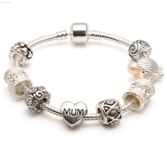 Cascade Cream Mum Bracelet or Mum Jewelry as Gifts For Mum