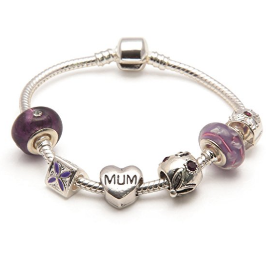 Purple Haze Mum Bracelet or Mum Jewelry as Gifts For Mum