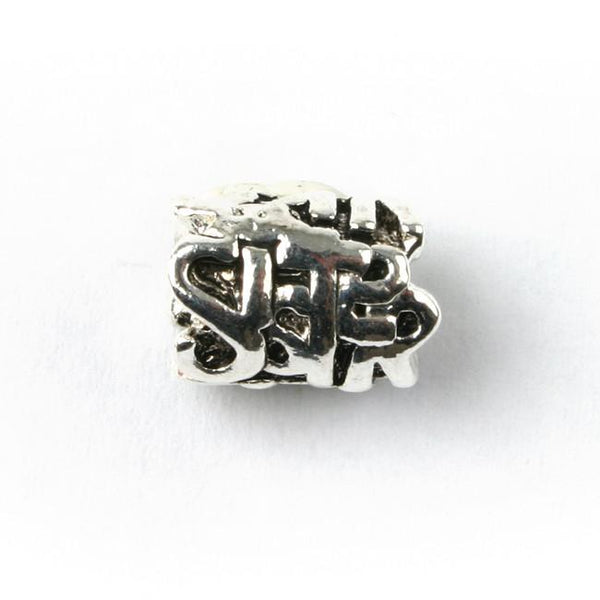 Silver Plated Sister Charm