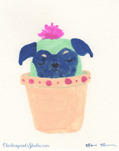 Cactus Pup no. 5 - Original Painting