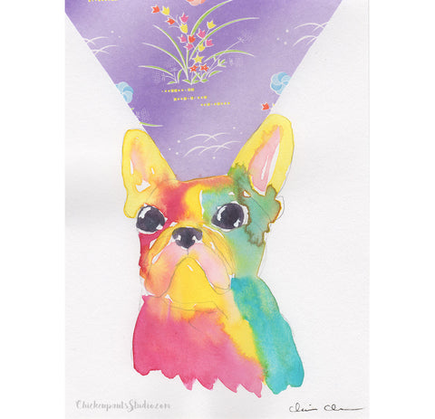 Beam -  Original French Bulldog Painting