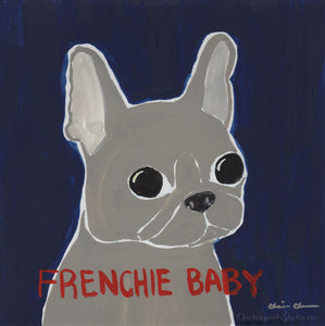 Frenchie Baby -  Original French Bulldog Painting