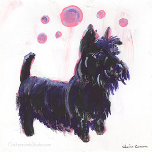 Scottie - Original Scottish Terrier Painting