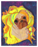 Dolly - Pug Art Print