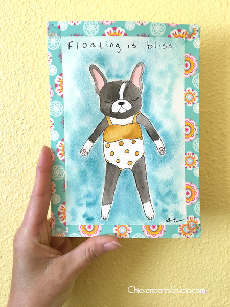 Josephine No. 14 - Floating Is Bliss -  Original Painting