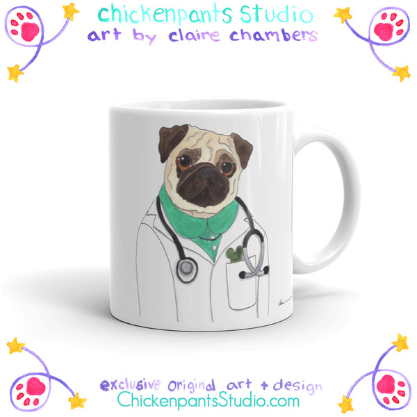 Doctor McScoots Mug (Lady Version)