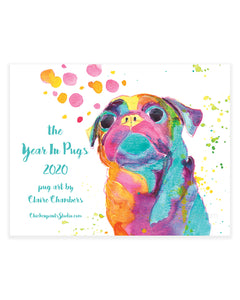 The Year In Pugs 2020 Calendar