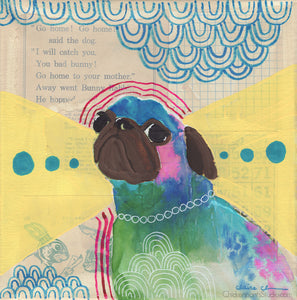 Animal Magnetism - Original Pug Painting