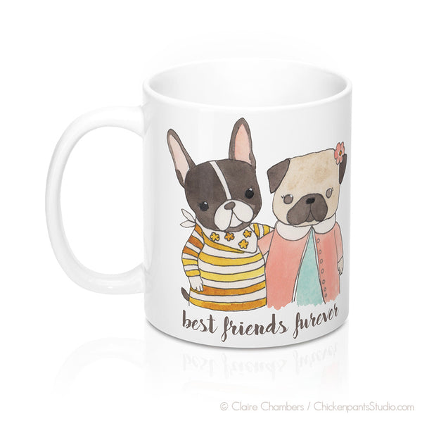 Best Friends Furever Mug