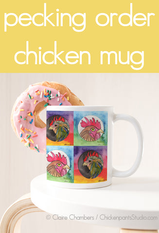 Pecking Order - Chicken Mug