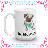 Personalized Doctor McScoots Mug (Lady Version)