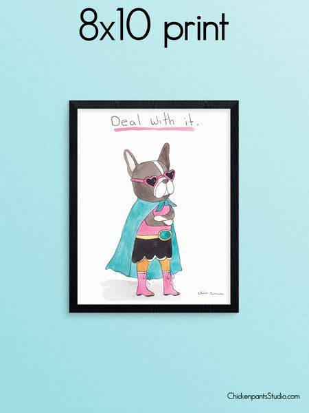 Deal With It - Art Print
