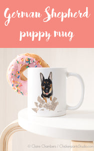 German Shepherd Puppy Mug