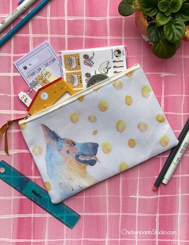 German Shepherd Zipper Pouch