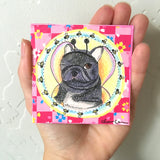 Original French Bulldog Fairy Painting