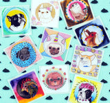 Little Animals - Pack of 10 Stickers