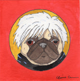 Andy - Original Pug Art
