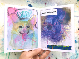 Sketchbook Animals Zine