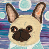 "Original French Bulldog Painting - ""Bob"""
