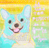 Corgi Original Art