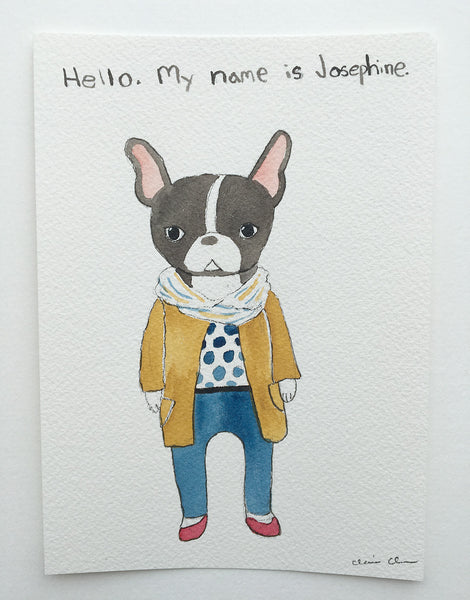 Josephine No. 1 -  Original Frenchton Painting