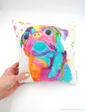 Huggable Art - Pug Plush Cushions