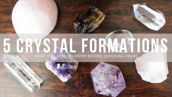5 Crystal Formations