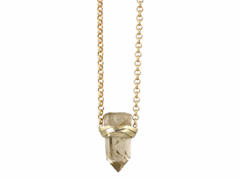 Ella Necklace Lemon Quartz